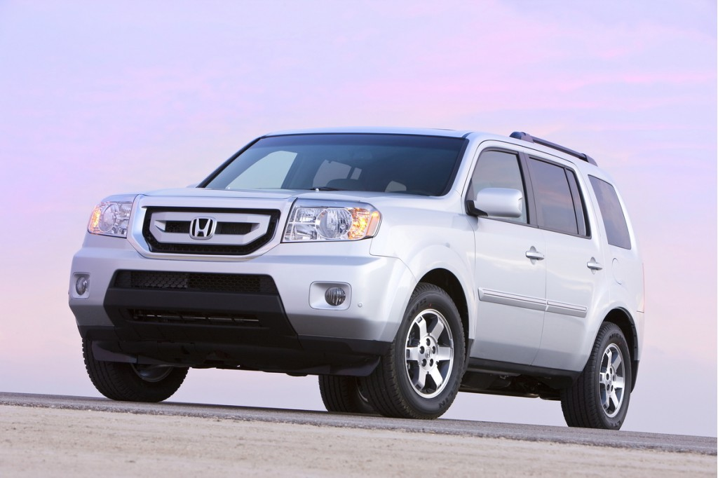 2011 honda pilot pictures photos gallery motorauthority. Black Bedroom Furniture Sets. Home Design Ideas
