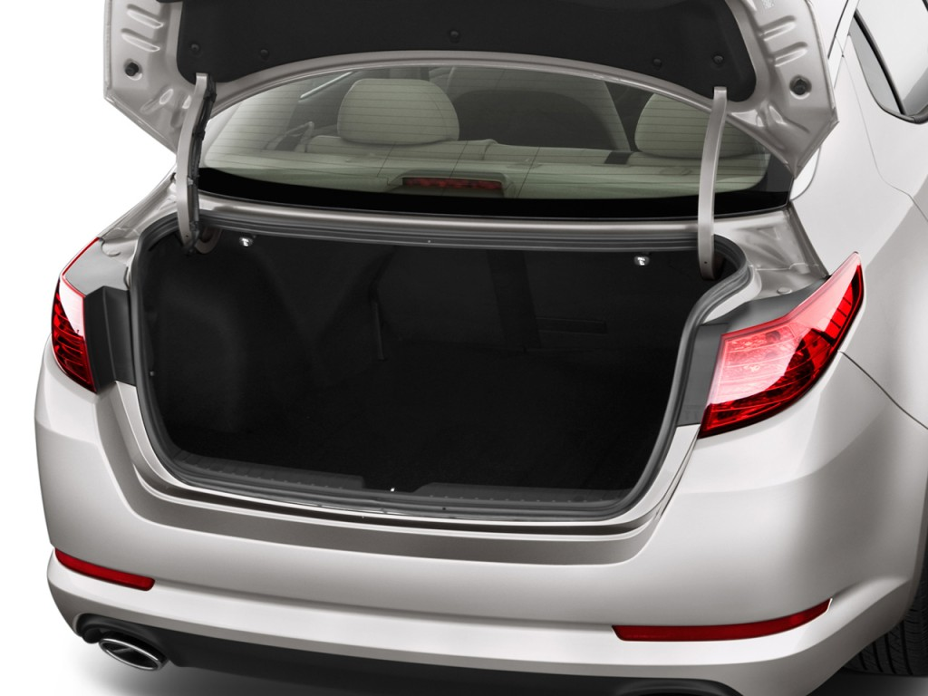 Image: 2011 Kia Optima 4-door Sedan 2.4L Auto LX Trunk, size: 1024 x ...