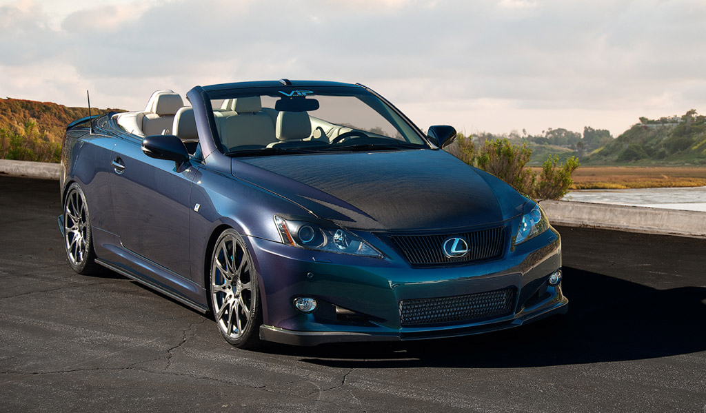 2011 Lexus Is 350c Gets Supercharged Treatment For 2011 Sema