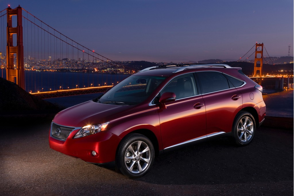 2011 lexus rx 350 pictures photos gallery the car connection. Black Bedroom Furniture Sets. Home Design Ideas