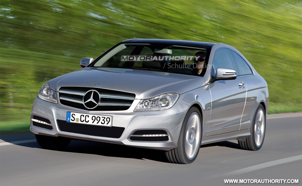 2011 mercedes benz c class coupe rendering for 2011 mercedes benz s class