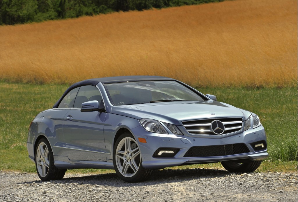 First drive 2011 mercedes benz e class cabrio for Mercedes benz e 2011