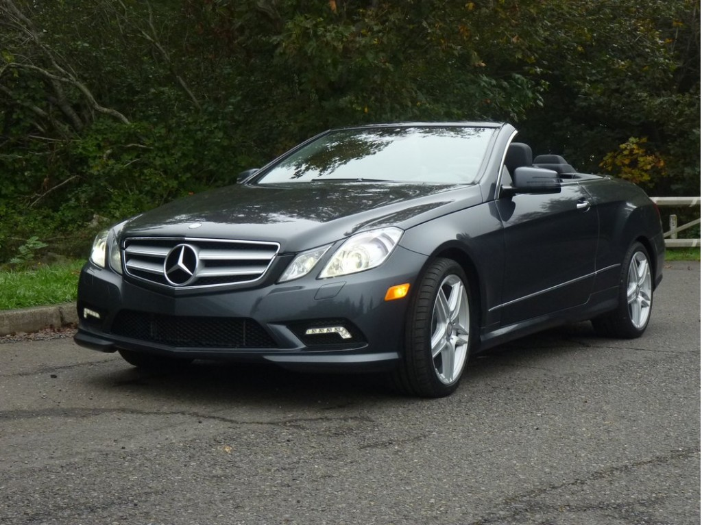 2011 mercedes benz e550 cabriolet driven