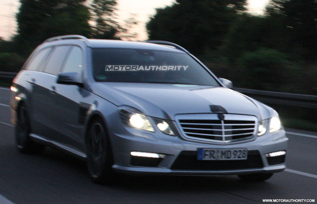 spy shots 2011 mercedes benz e63 amg estate