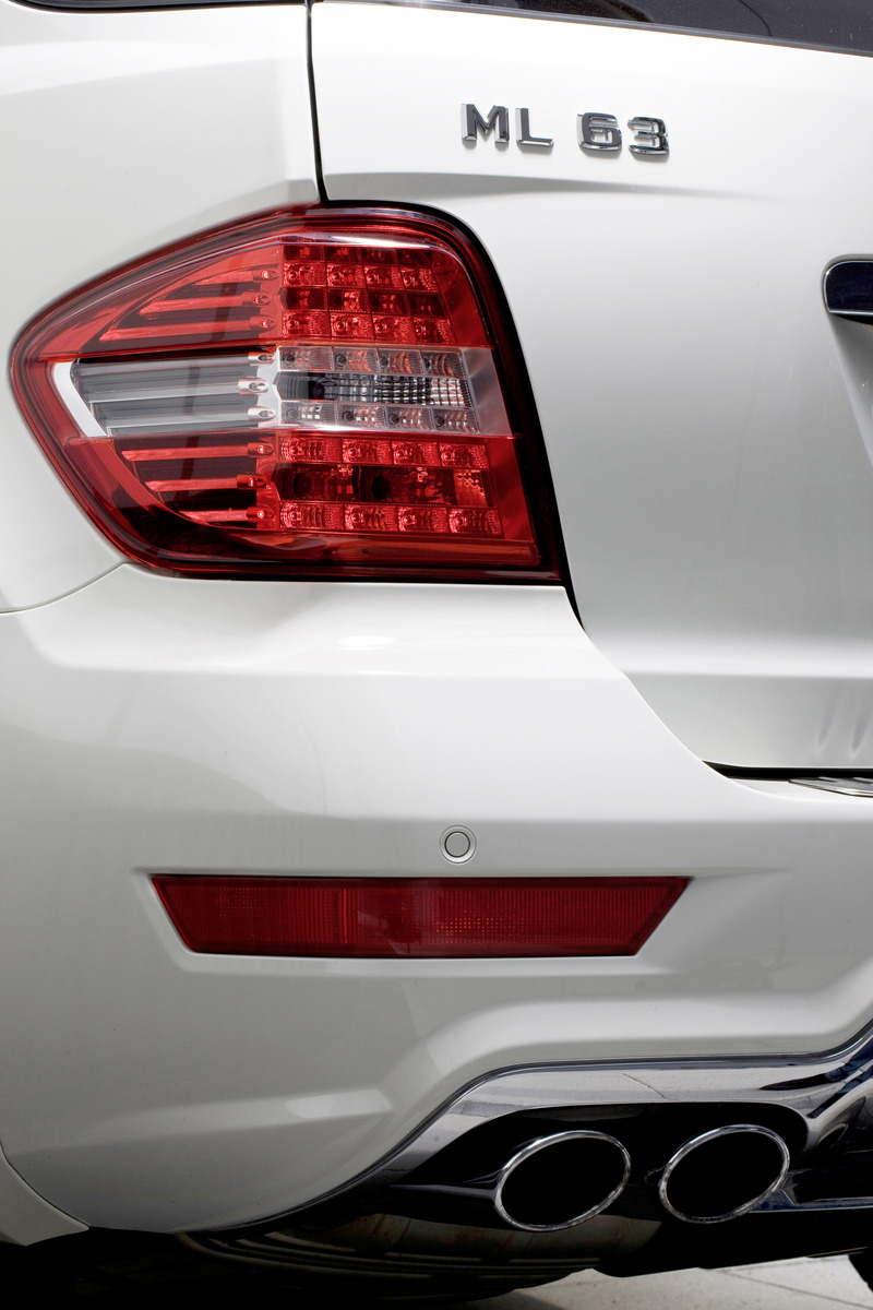 2011 Mercedes Benz Ml63 Amg Preview