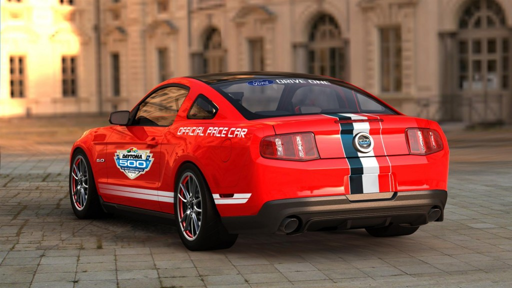 2011 Ford Mustang GT Named As Daytona 500 Pace Car