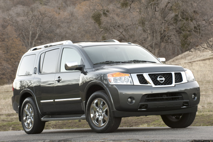 2011 nissan armada pictures photos gallery the car connection. Black Bedroom Furniture Sets. Home Design Ideas