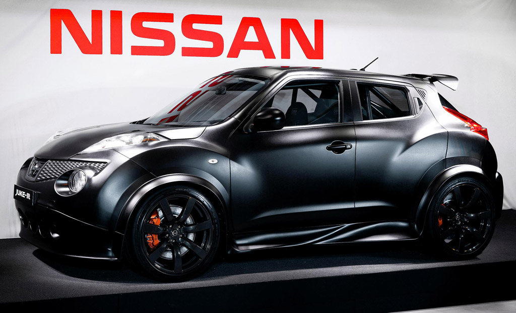Nissan Juke Lift Kit >> 2011 Nissan Juke-R Concept Revealed