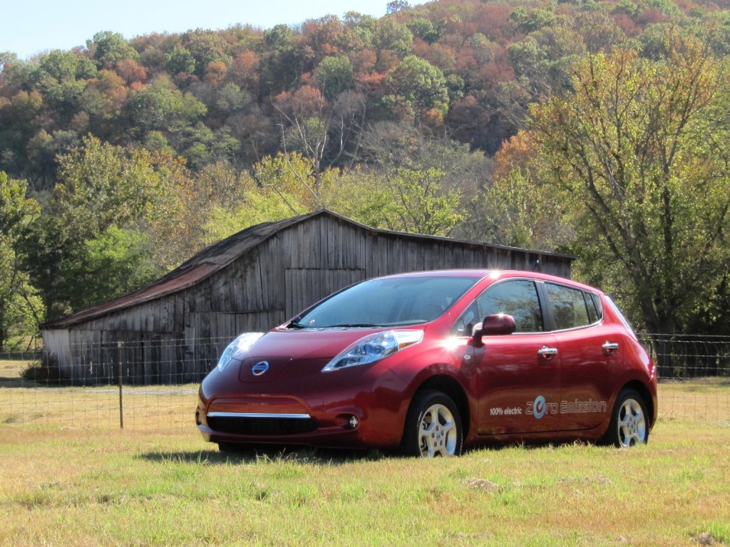 2011 nissan leaf nashville october 2010 for Electric motors nashville tn