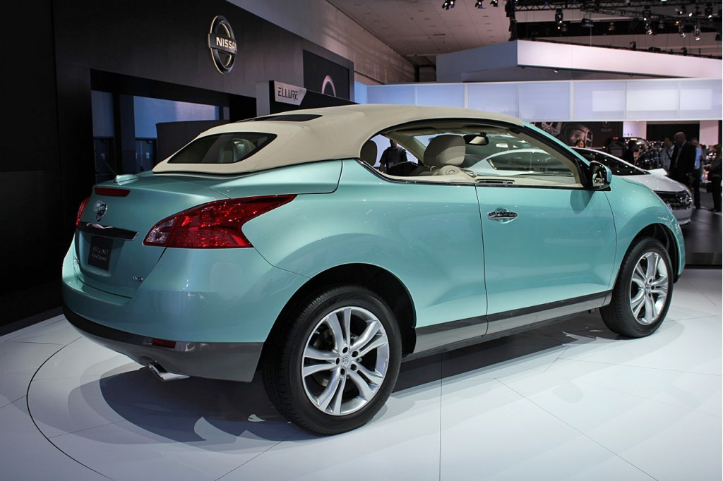 Image: 2011 Nissan Murano CrossCabriolet, size: 1024 x 682, type: gif ...