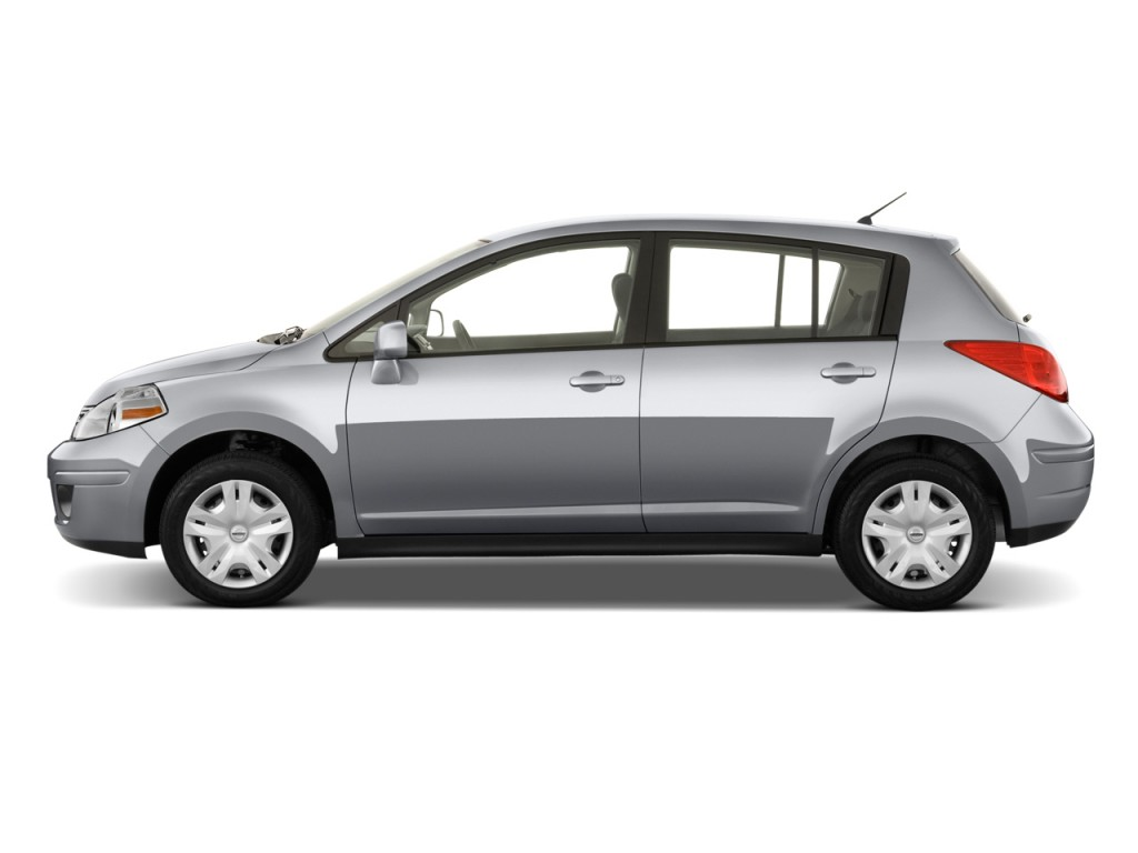 2011 nissan versa 5dr hb i4 auto 1 8 s side exterior view. Black Bedroom Furniture Sets. Home Design Ideas