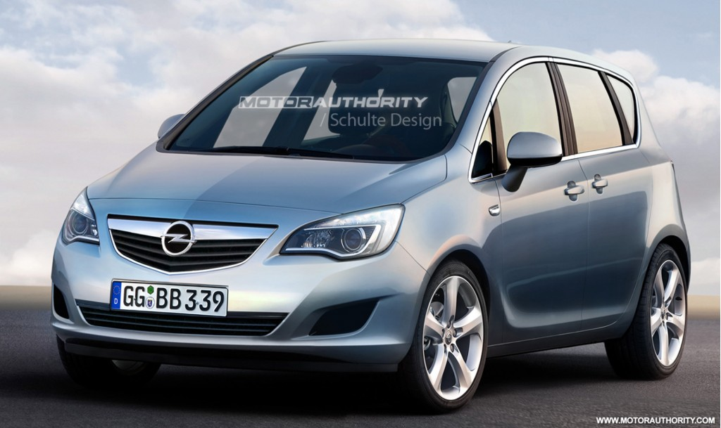 image 2011 opel meriva preview rendering 001 size 1024 x 609 type gif posted on july 27. Black Bedroom Furniture Sets. Home Design Ideas