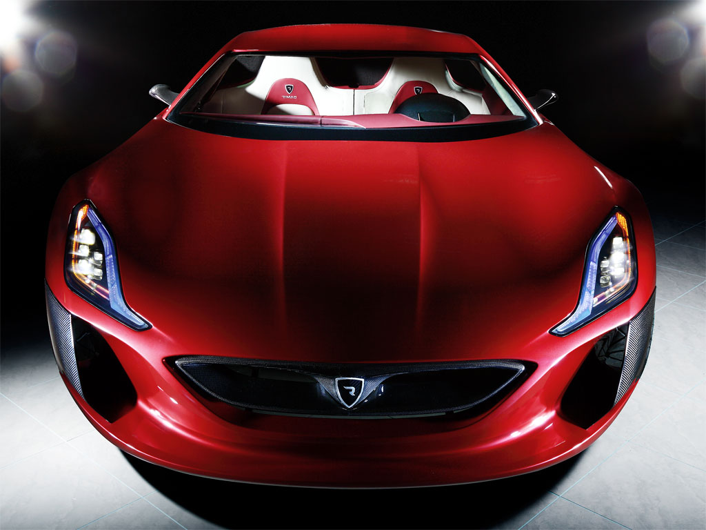 Rimac Concept One L on Kia Gt Concept