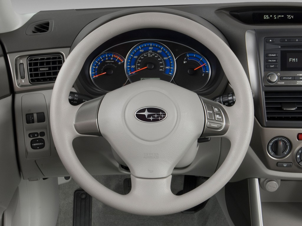 Image 2011 Subaru Forester 4 Door Auto 2 5x Steering Wheel Size 1024 X 768 Type Gif Posted