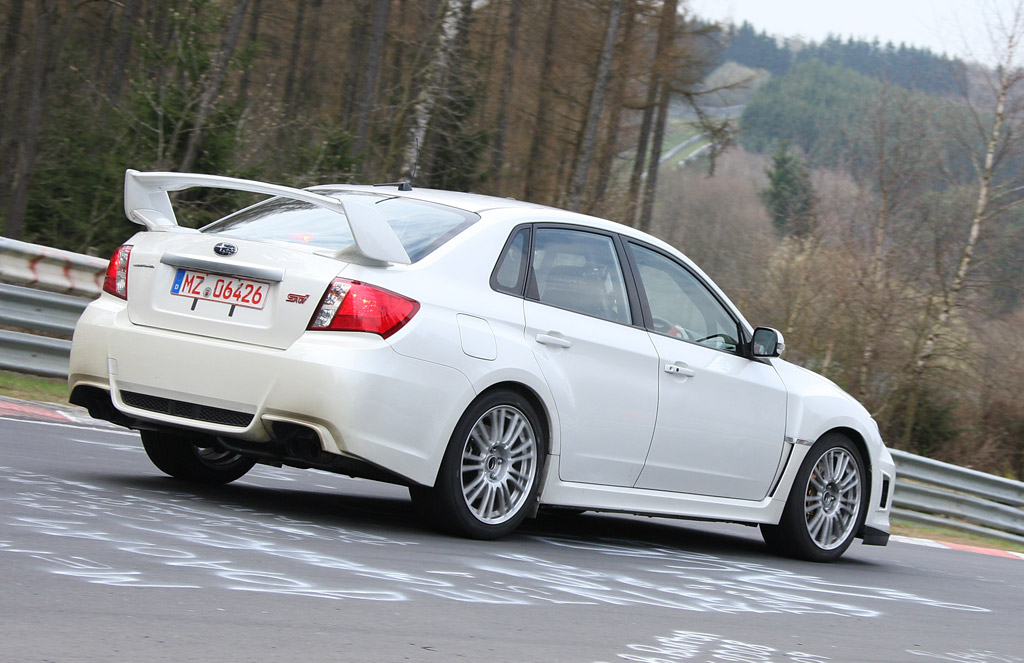 video 2011 subaru impreza wrx sti attacks the nurburgring. Black Bedroom Furniture Sets. Home Design Ideas