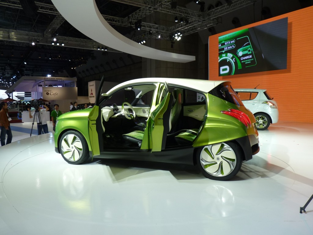 Suzuki regina concept 2011 tokyo motor show live photos for What does a motor vehicle report show