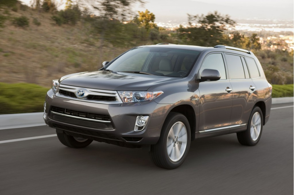 2011 toyota highlander hybrid new styling higher mileage. Black Bedroom Furniture Sets. Home Design Ideas
