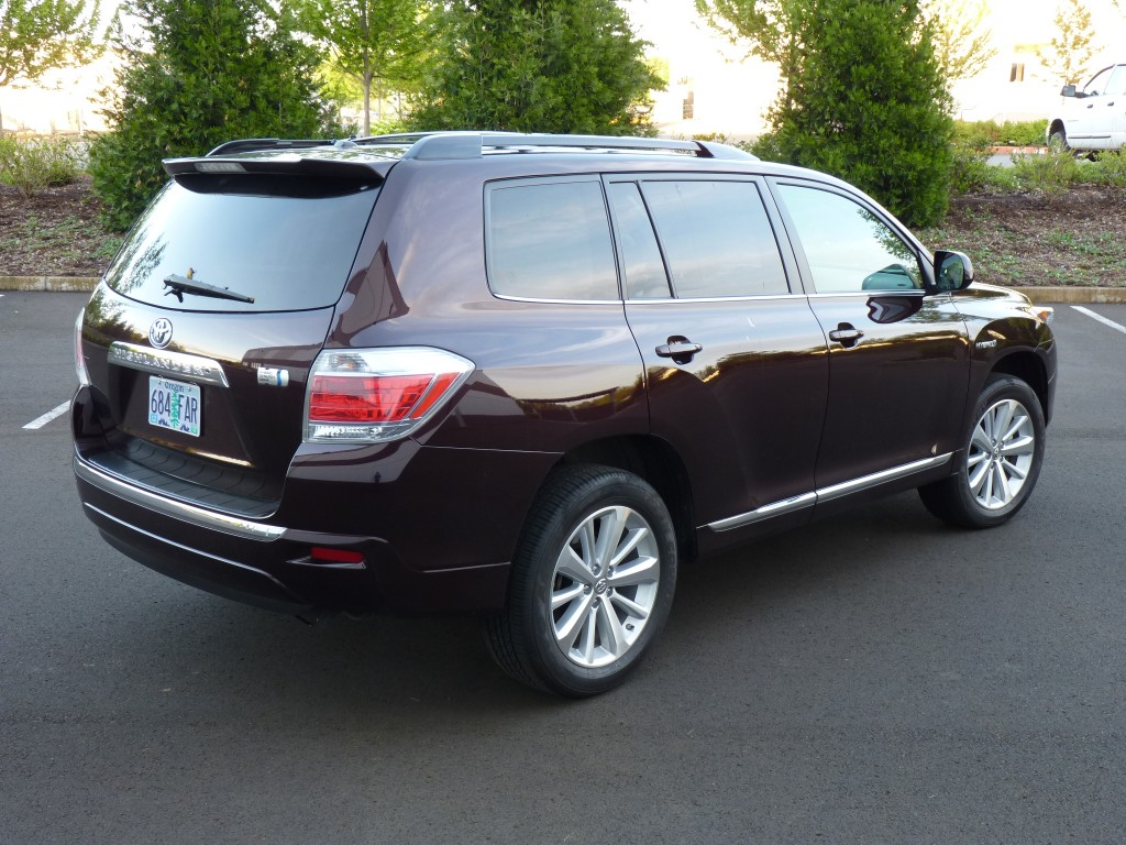 2011 toyota highlander hybrid pictures photos gallery green car reports. Black Bedroom Furniture Sets. Home Design Ideas