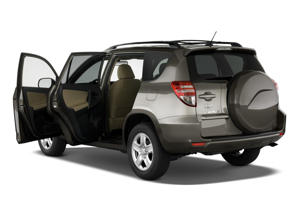 Open Doors - 2011 Toyota RAV4 FWD 4-door 4-cyl 4-Spd AT (GS)