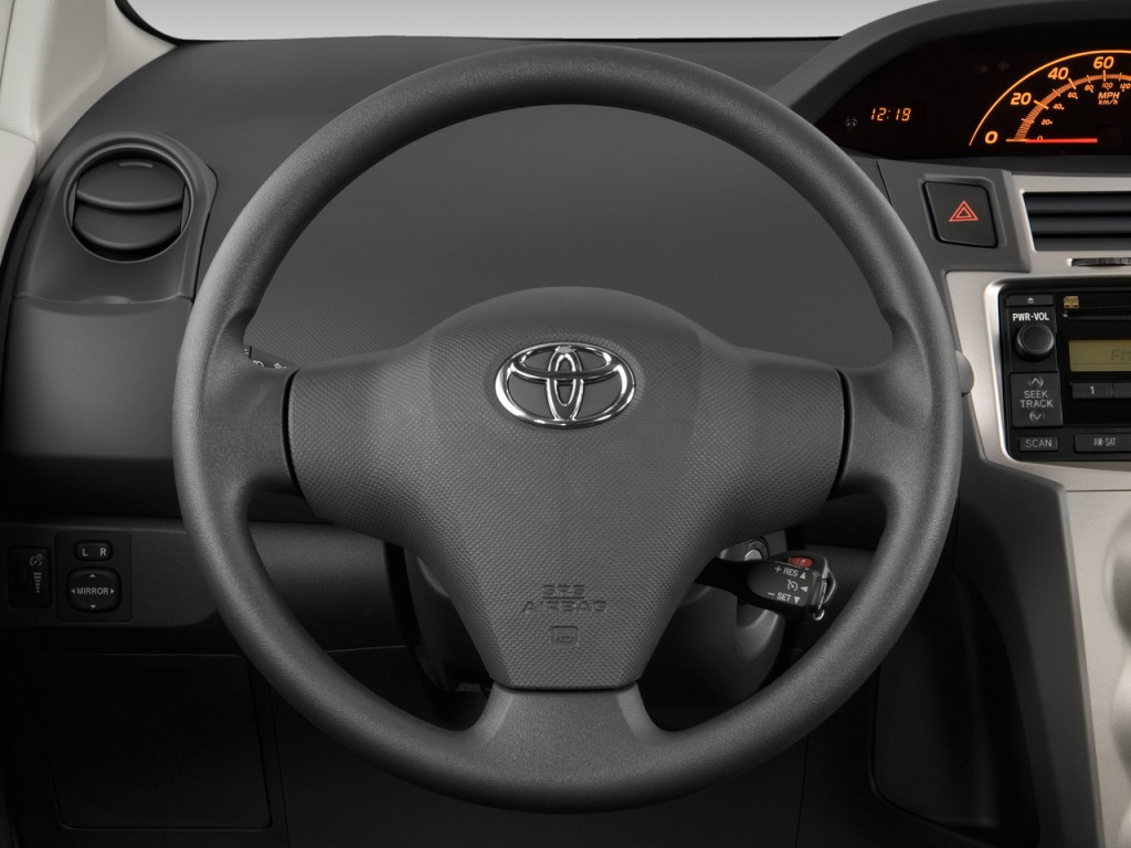 image 2011 toyota yaris 3dr lb auto gs steering wheel size 1024 x 768 t. Black Bedroom Furniture Sets. Home Design Ideas