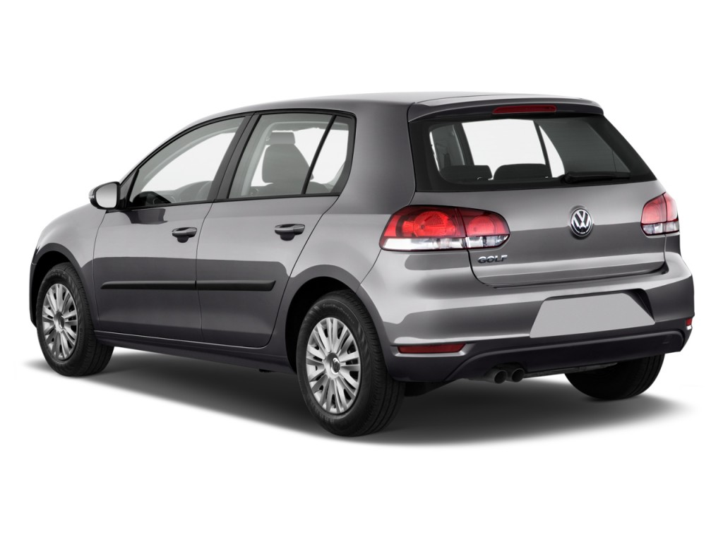 2011 volkswagen golf 4 door hb auto angular rear exterior view. Black Bedroom Furniture Sets. Home Design Ideas