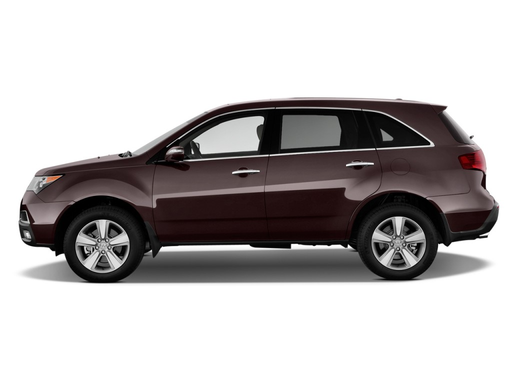 Image 2012 Acura Mdx Awd 4 Door Advance Pkg Side Exterior View Size 1024 X 768 Type Gif