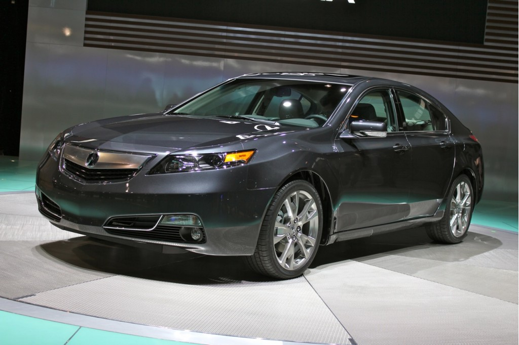 new 2012 acura tl debuts at chicago auto show. Black Bedroom Furniture Sets. Home Design Ideas