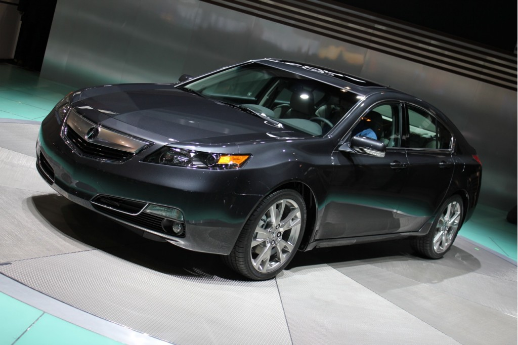 video 2012 acura tl unveiling at 2011 chicago auto show. Black Bedroom Furniture Sets. Home Design Ideas