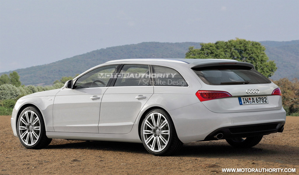 2012 audi a6 avant spy shots. Black Bedroom Furniture Sets. Home Design Ideas