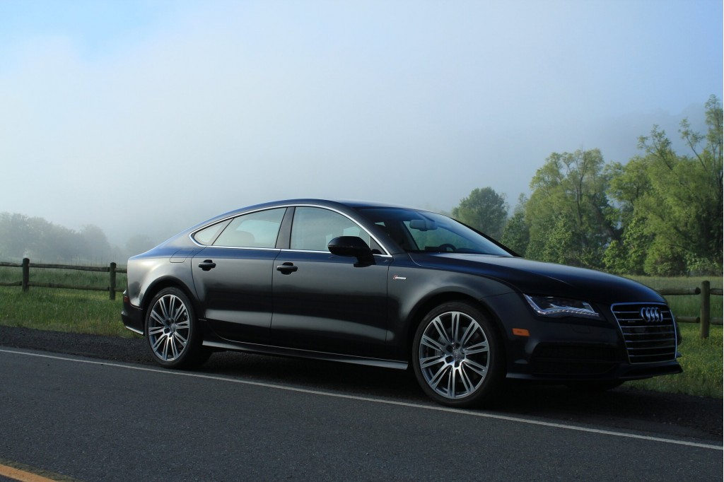 2012 audi a7 driven. Black Bedroom Furniture Sets. Home Design Ideas