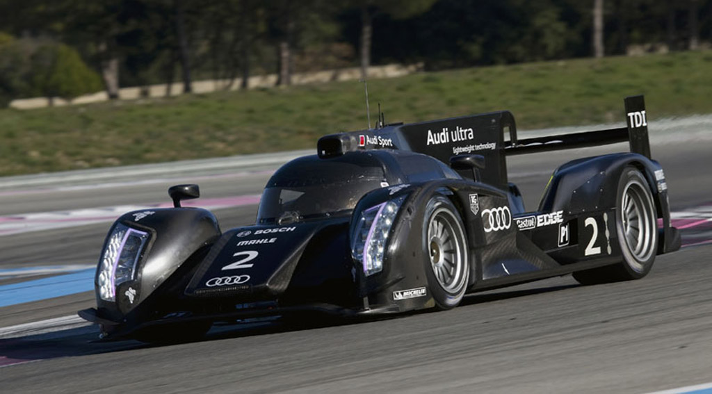 Audi Heads To Sebring For Testing Of 2012 Lmp1 Race Car