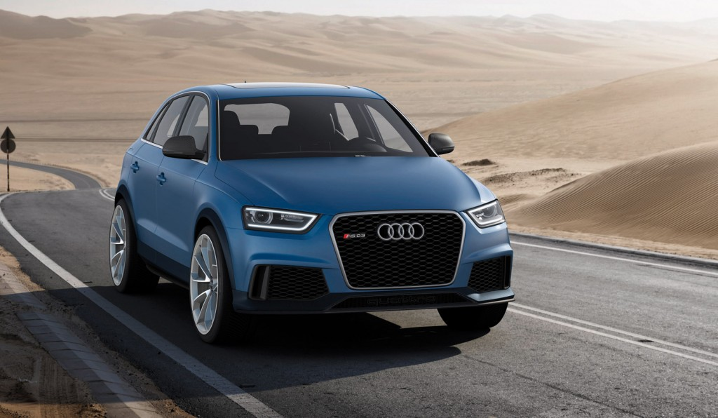 audi rs q3 revealed 6speedonline porsche forum and luxury car resource. Black Bedroom Furniture Sets. Home Design Ideas