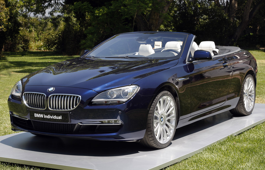 2012 bmw 6 series convertible worked over by bmw individual. Black Bedroom Furniture Sets. Home Design Ideas