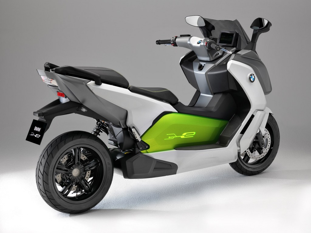 bmw unveils c evolution electric scooter prototype. Black Bedroom Furniture Sets. Home Design Ideas