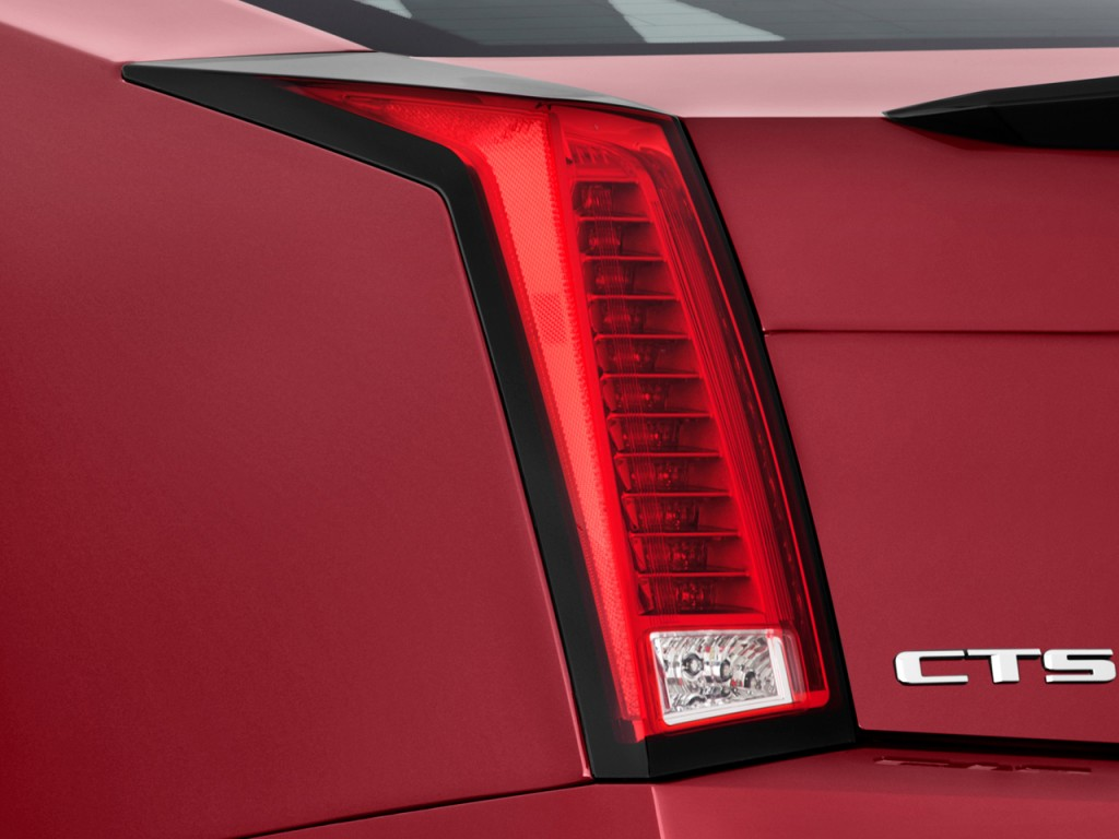 Cadillac Cts V Coupe Door Coupe Tail Light L