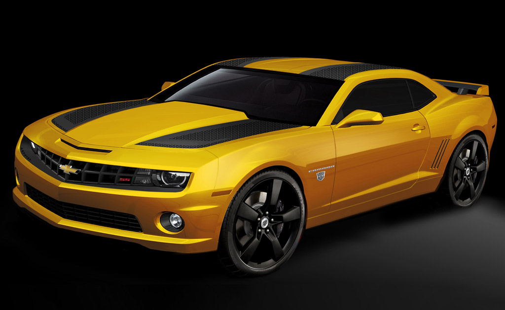 2012 Chevrolet Camaro Transformers 3 Special Edition Revealed