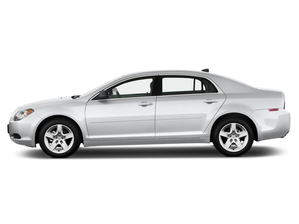 image 2012 chevrolet malibu 4 door sedan ls w 1ls side. Black Bedroom Furniture Sets. Home Design Ideas