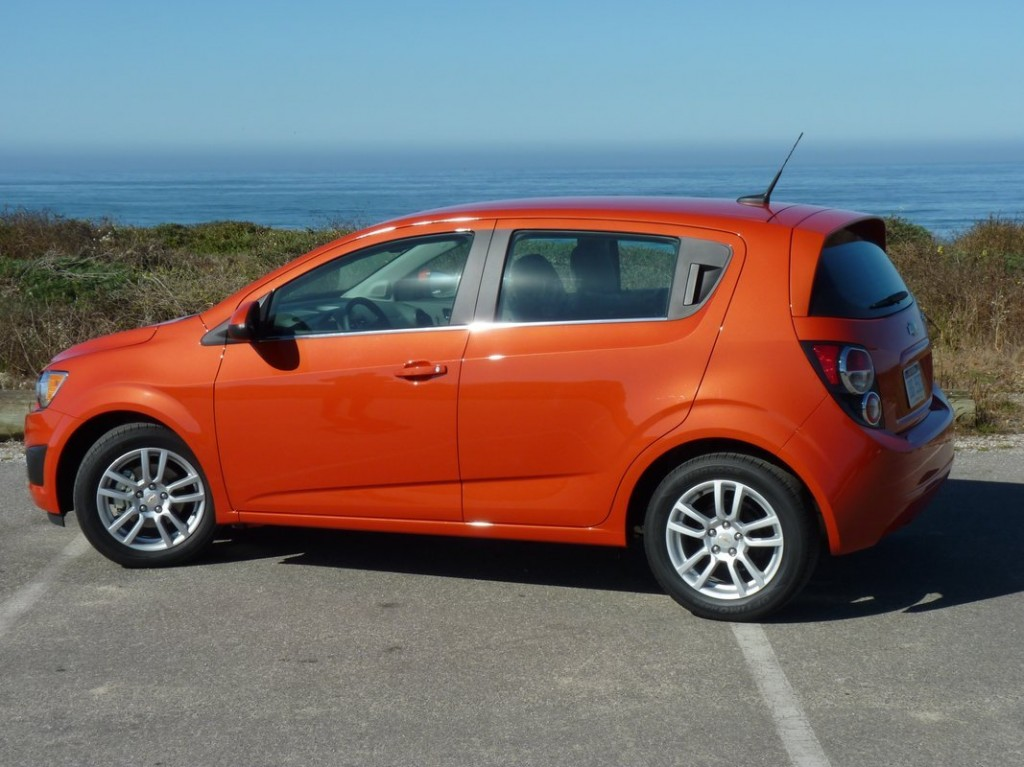 2012 chevrolet sonic subcompact named iihs top safety pick. Black Bedroom Furniture Sets. Home Design Ideas