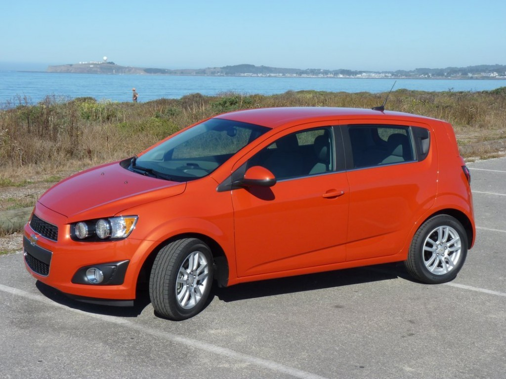 2012 Chevrolet Sonic  First Drive