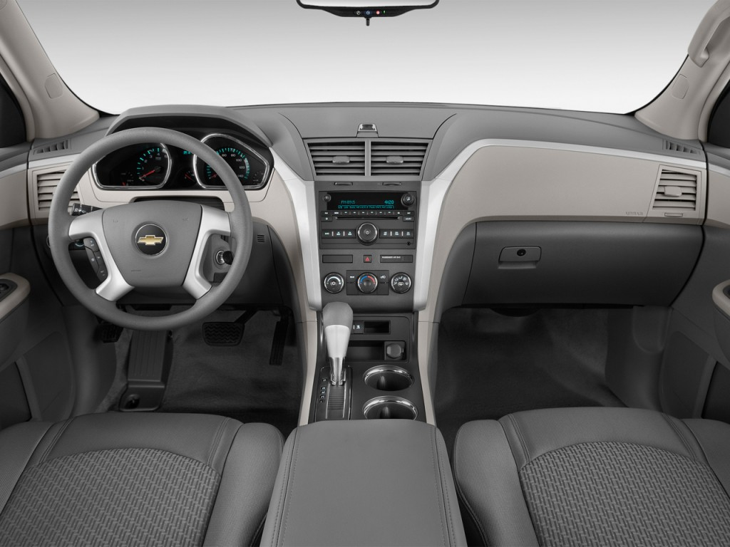 2013 Chevy Equinox Tire Size >> Image: 2012 Chevrolet Traverse FWD 4-door LS Dashboard ...