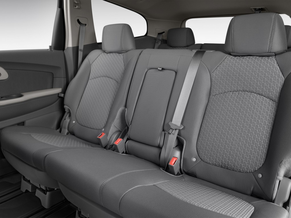 image 2012 chevrolet traverse fwd 4 door ls rear seats size 1024 x 768 type gif posted on. Black Bedroom Furniture Sets. Home Design Ideas