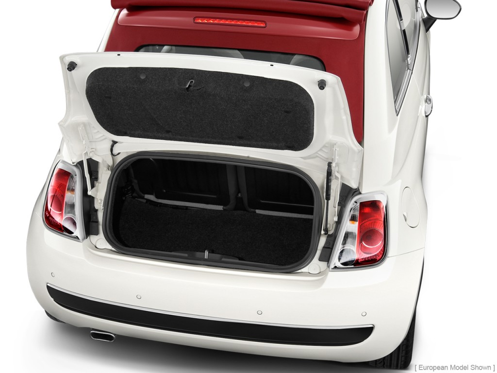 Image 2012 Fiat 500 2 Door Convertible Lounge Trunk Size