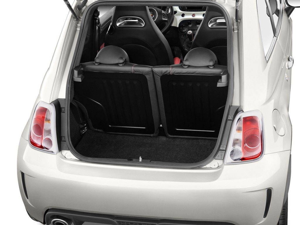 Fiat 500 Abarth Trunk Image: 2012 FIAT 500 2...