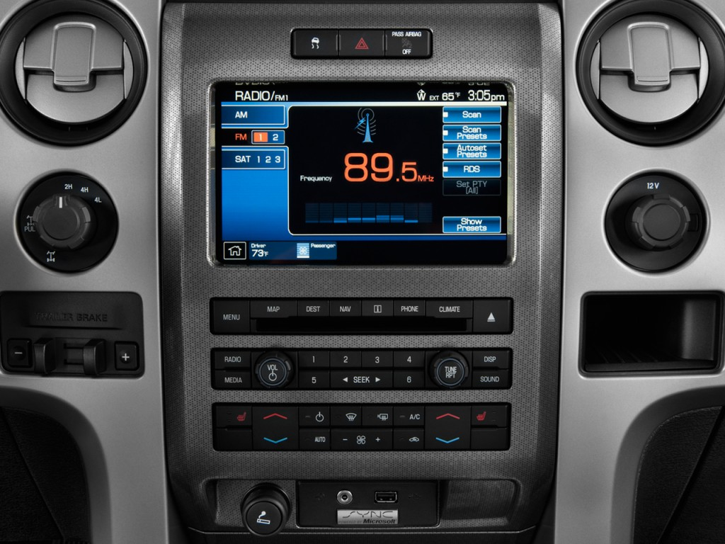 Ford truck audio systems submited images