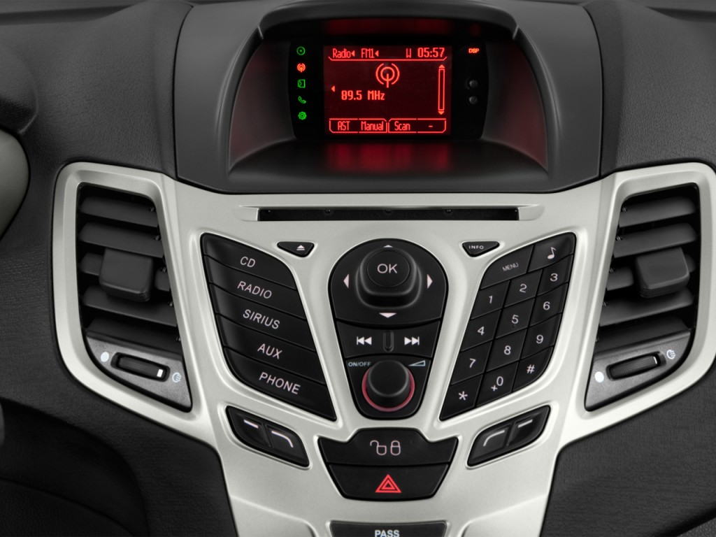 Image 2012 Ford Fiesta 4 Door Hb Ses Audio System Size 1024 X 768 Type Gif Posted On
