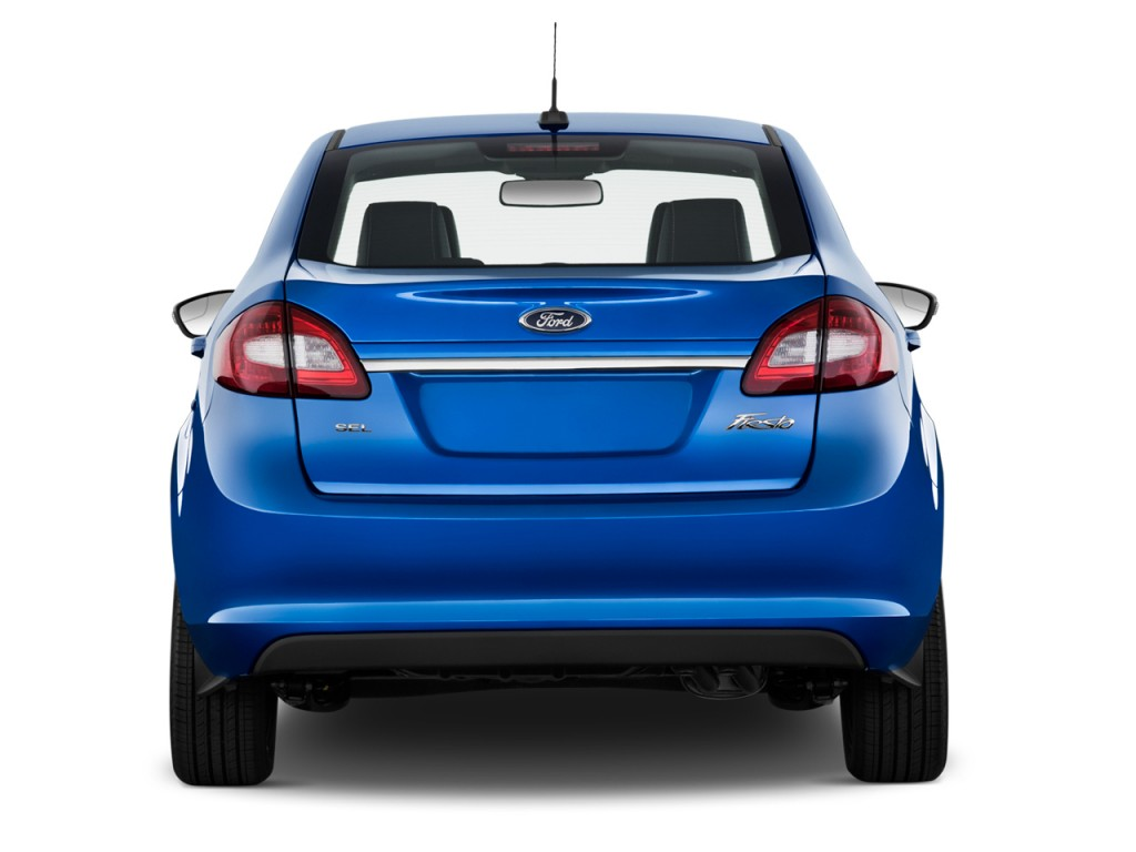 Image 2012 Ford Fiesta 4 Door Sedan Sel Rear Exterior