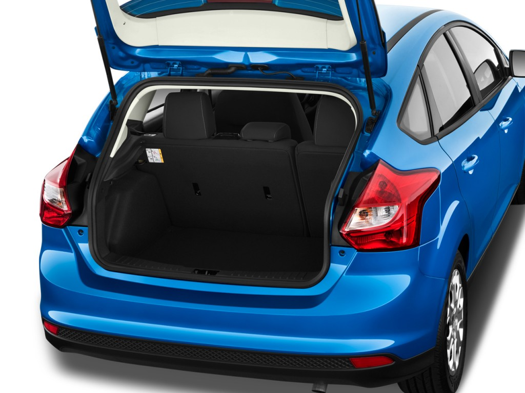 2011 Ford Focus Trunk Size