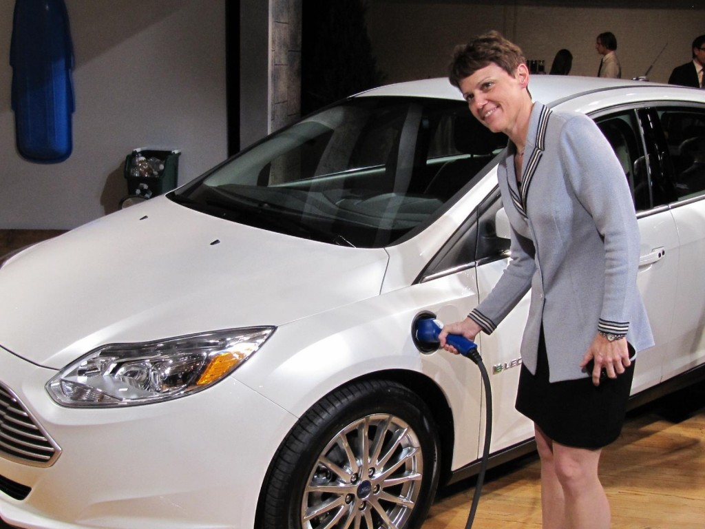 2012 Ford Focus Electric launch, New York City, January 2011 - Nancy Gioia