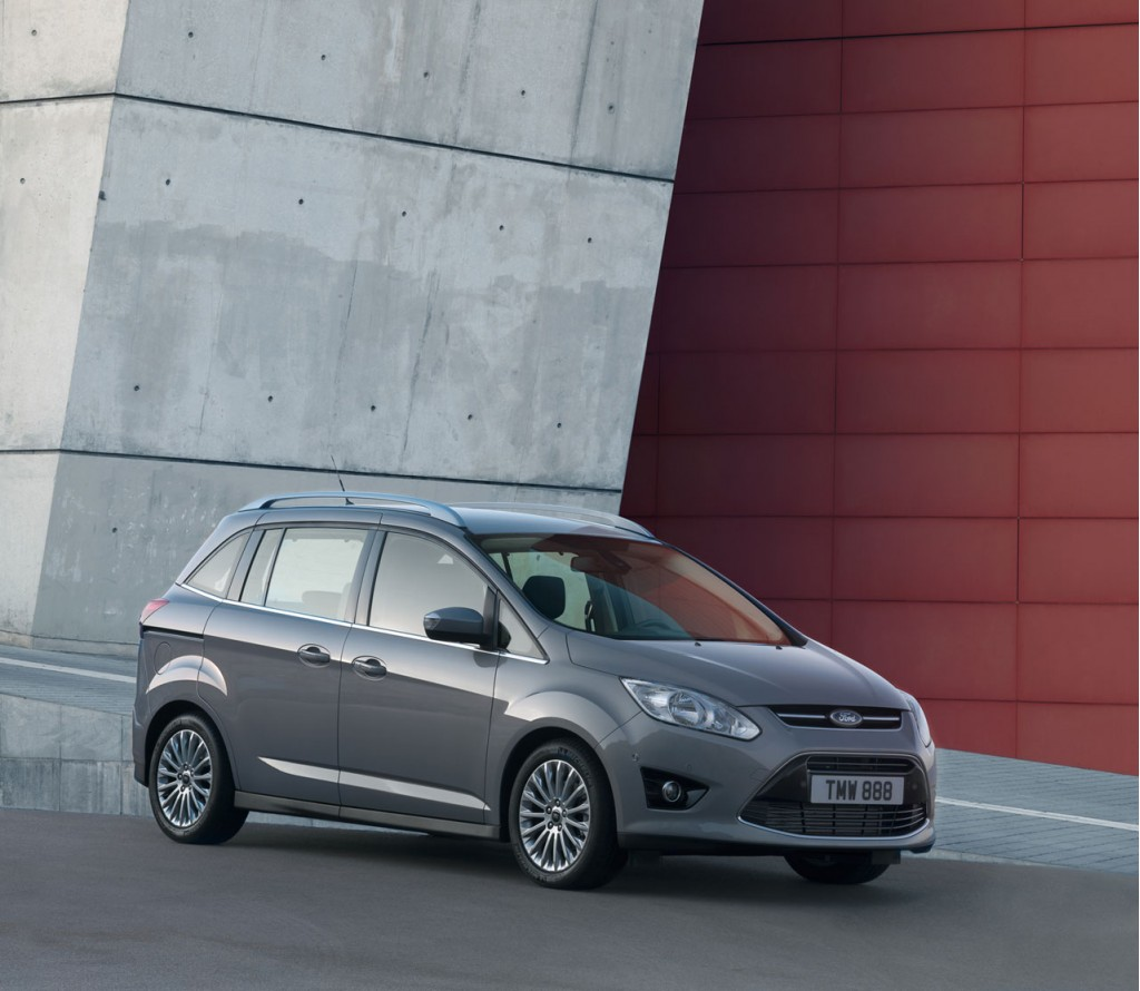 Paris Motor Show: Ford Confirms C-Max Hybrid And Plug-In