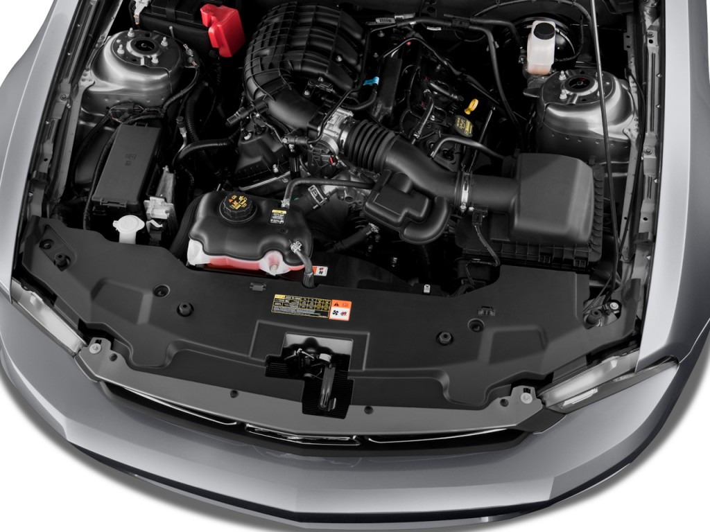 Image 2012 ford mustang 2 door coupe premium engine size for Ford mustang motor sizes